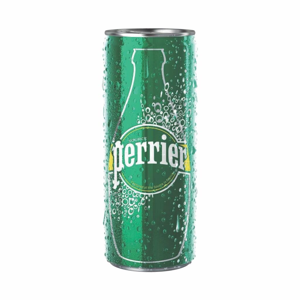 Agua Perrier Original Lata Delgada 250 ml