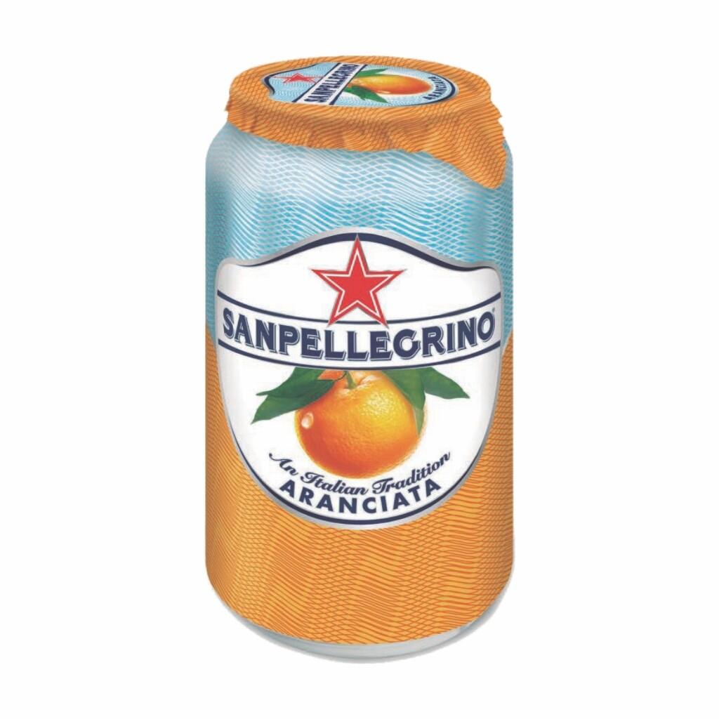 Aranciata Can San Pellegrino 330 ml