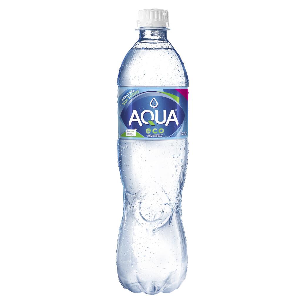 Aqua Botella Plastica 750 ml