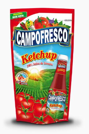Salsa de Tomate Ketchup Campofresco Doy Pack  14 onz