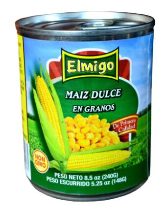 Maiz en Grano Elmigo 15 onzas (425 gramos)