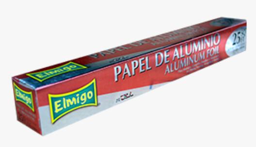 Papel Aluminio Elmigo 25 pies