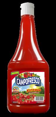 Salsa de Tomate Ketchup Campofresco Bote Plastico 28 oz