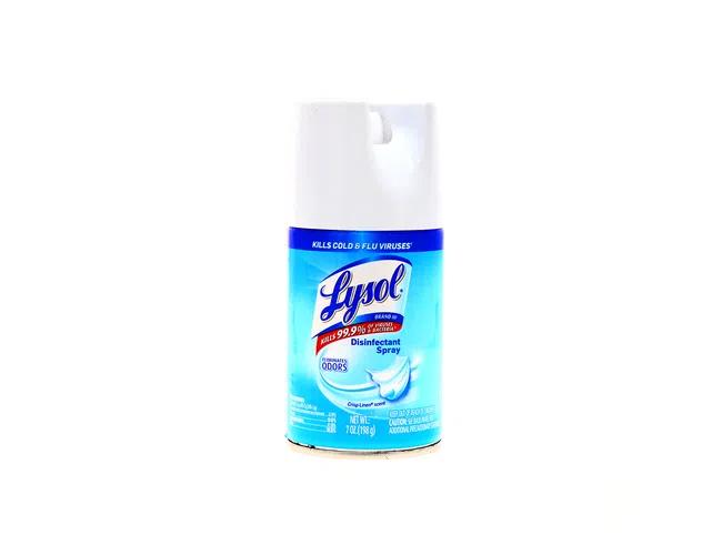Desinfectante Lysol Spray Crisp Linen 198gr