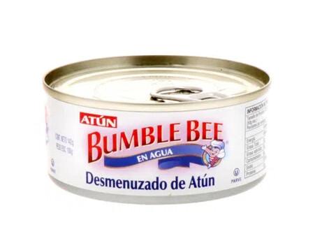 Atun Desmenuzado en Agua BumbleBee Tuna 142 Gramos