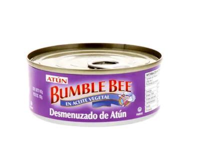 Atun Desmenuzado en Aceite BumbleBee Tuna 142 Gramos