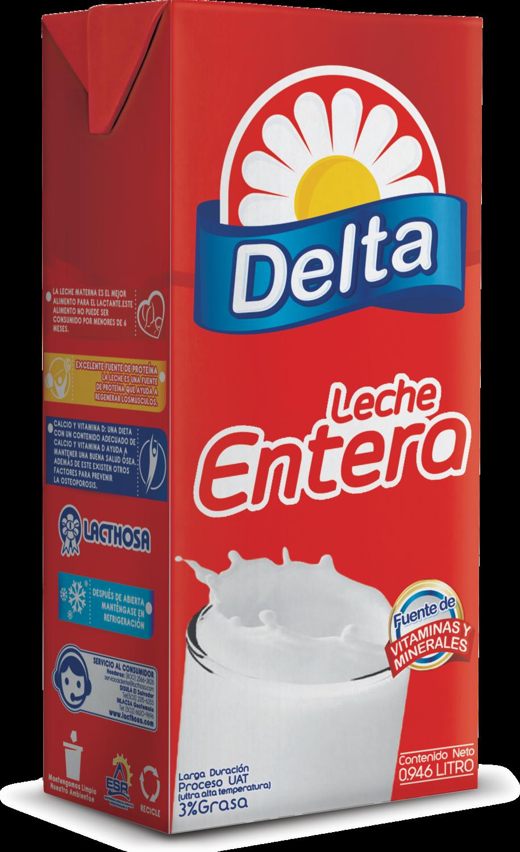 Leche Delta Entera UHT 0.946 Litros