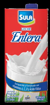 Leche Entera Sula UHT 0.946 Litros