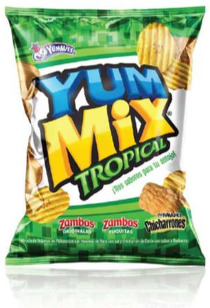 Yummix Tropical Tamano Familiar 190 Gramos