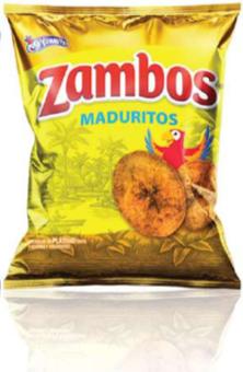 Zambos Platano Maduritos Tamano Familiar 140 Gramos