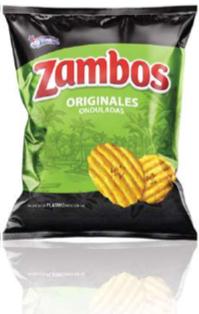 Zambos Platano Originales Tamano Familiar 140 Gramos