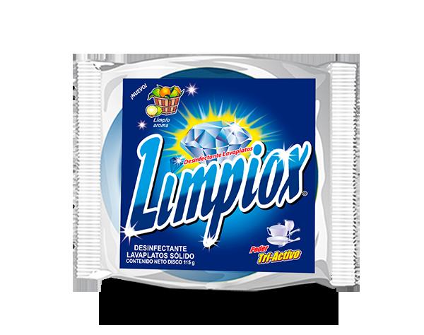 Diskette Pastilla Limpiox Azul 115 gr