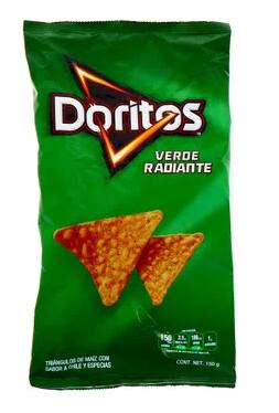 Doritos Verde Radiante 150 Gramos