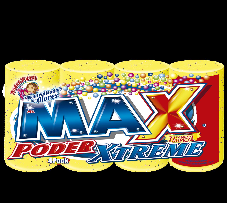 Jabon Max Super Barra Frescura Tropical  425gr  4 Pack
