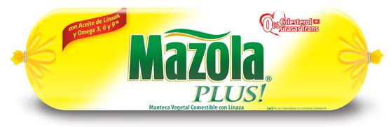 Manteca Mazola Plus 1 Kilo