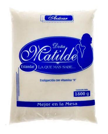 Azucar Doña Matilde 1800 gramos