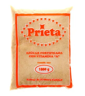 Azucar Prieta Fortificada con Vitamina A 1800 gramos