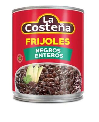 Frijoles Enteros Negros La Costeña 560 Gramos