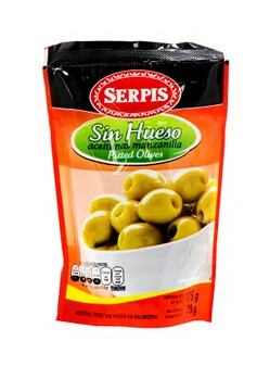 Aceituna Serpis sin Hueso Doy Pack 170 Gramos
