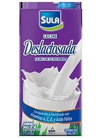 Leche Sula Deslactosada Semidescremada UHT 0.946 Litros