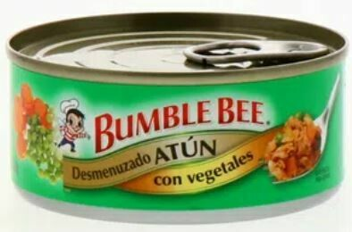 Atun Desmenuzado con Vegetal Bumble Bee Tuna 142 Gramos