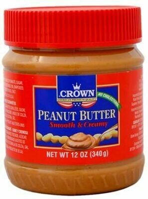 Crema de Mani Crown (Peanut Butter) Creamy 340 gr