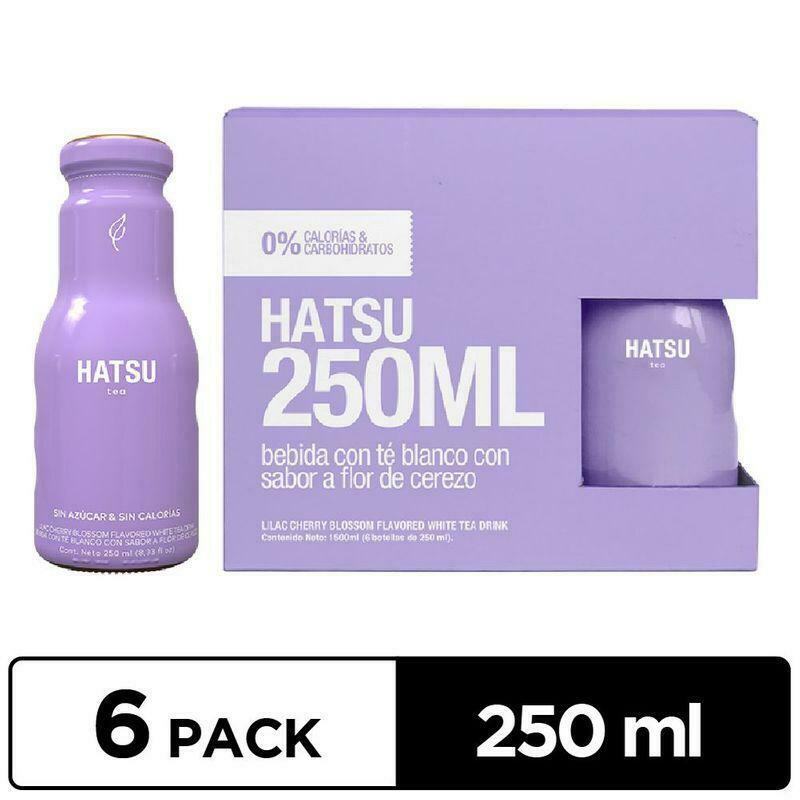 Te Blanco Flor de Cerezo HATSU 250ml - 6 Pack