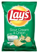 Lay´s Potato Chip Sour Cream & Onion 184.3 Gramos