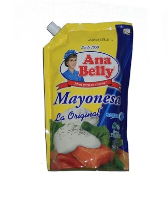 Mayonesa Ana Belly Doy Pack 900 Gramos