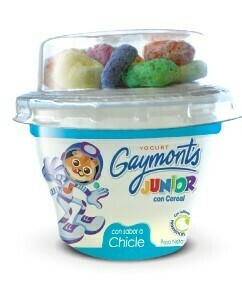 Yogurt Gaymonts Jr Chicle 100gr