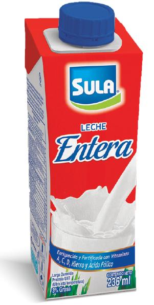 Leche Entera Sula UHT 236ml