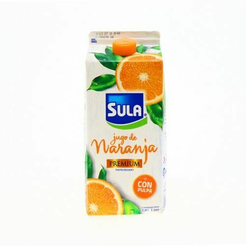 Jugo naranja Sula con pulpa premium 1.89 L