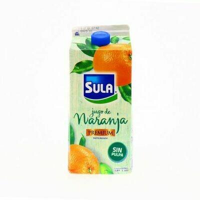 Jugo naranja Sula sin pulpa premium 1.89 L
