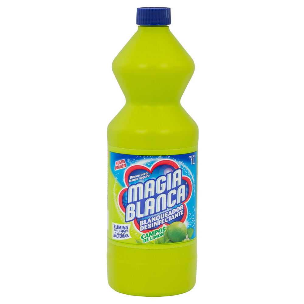 Cloro Magia Blanca Limon 1 Litro
