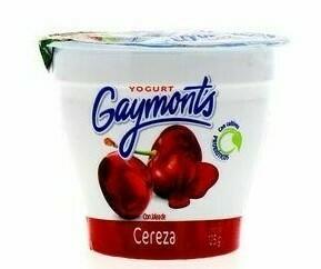 Yogurt Gaymonts vaso cereza 125gr