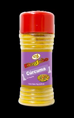 Curcuma en Polvo Don Julio Bote 75gr/ 2.64oz