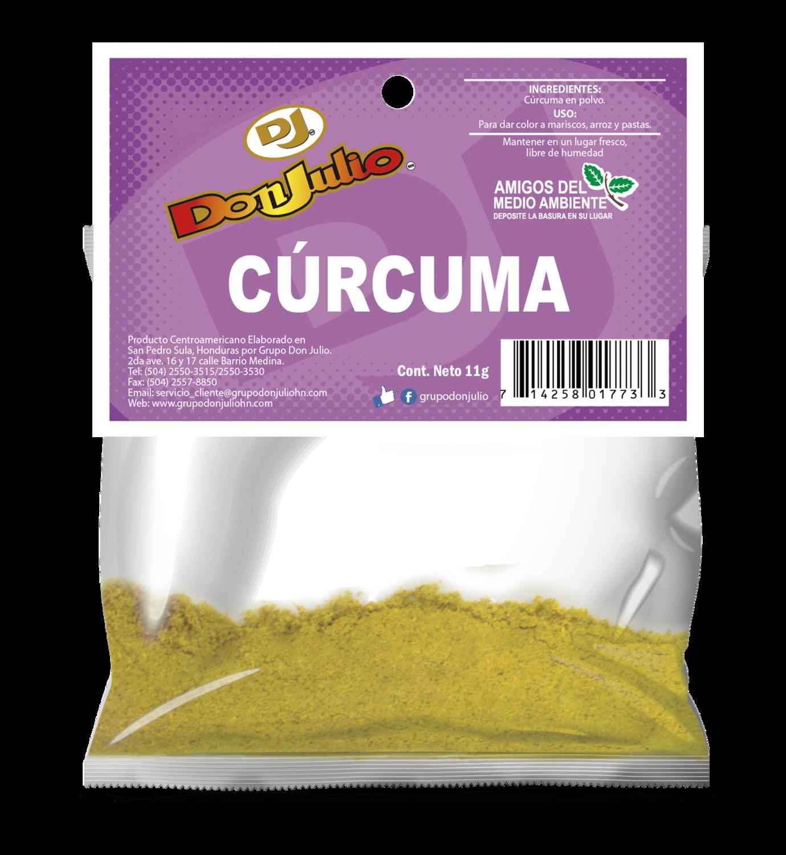 Curcuma en Polvo Don Julio Refill Pack 11gr