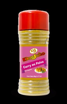 Curry en Polvo Don Julio bote 90 gr/  3.17oz