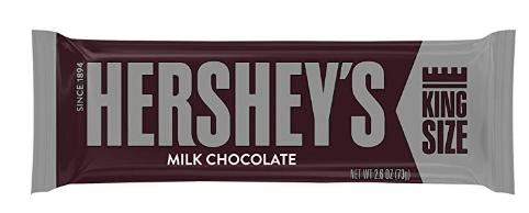 Hershey's Milk Chocolate King Size 73gr