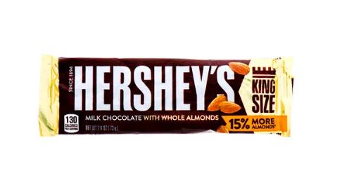Hershey's Milk Chocolate Almond King Size 73gr