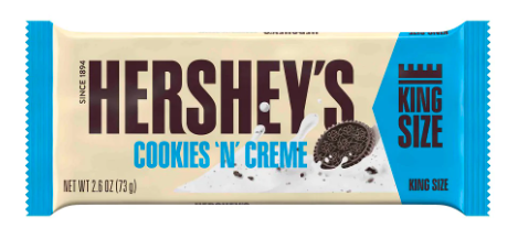 Hershey's Cookies 'N Creme King Size 73gr