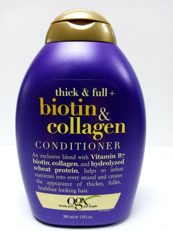 Organix Acondicionador Biotin & Collagen 13oz