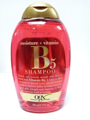 Shampoo Organix Vitamina B5 13oz