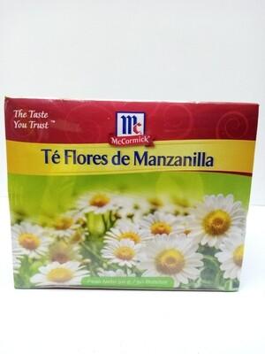 Te Flores de Manzanilla McCormick 50 Bolsitas 1gr