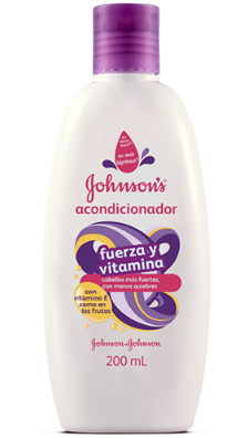Johnson's Baby Acondicionador Fuerza y Vitamina 200ml