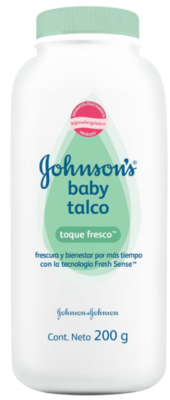 Johnson's Talco Fresco 200ml