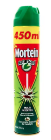 Mortein Multi Insectos Eucalipto 450 ml