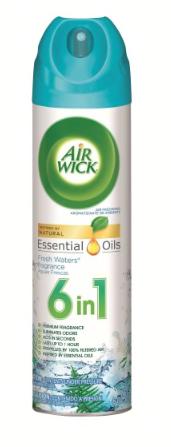 Aromatizante Air Wick Aerosol Fresh Water Spray 225 gr