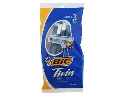 BIC Twin Rasuradora Normal Bolsa 3