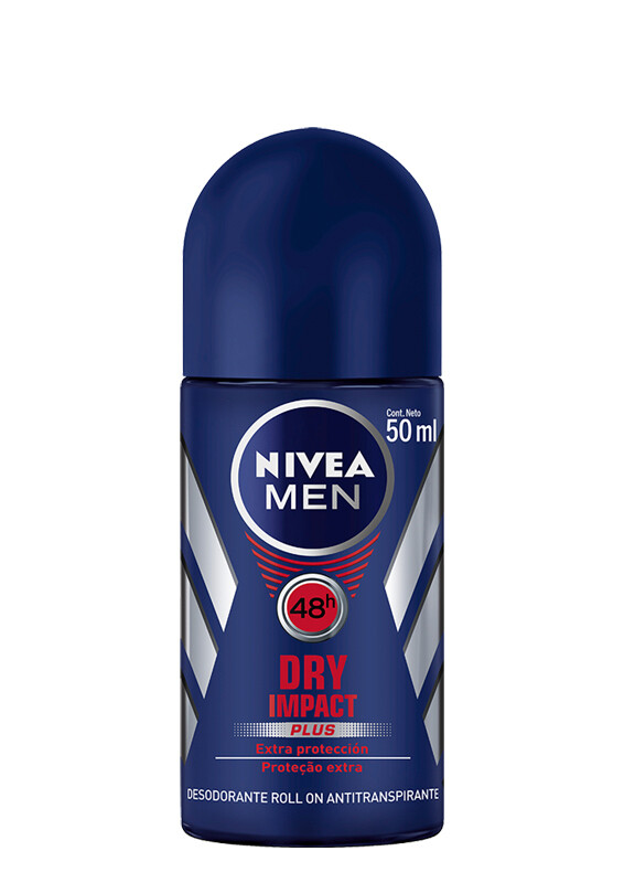Nivea Desodorante Roll-On Dry Masculino 50ml